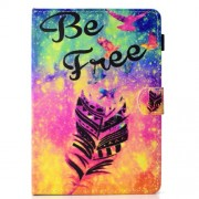 Pattern Printing Universal Magnetic Leather Stand Case for 7-inch Tablet PC - Be Free