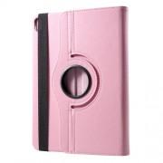 Περιστρεφόμενη Δερμάτινη Θήκη Βιβλίο με Βάση Στήριξης για iPad Pro 12.9-inch (2018) - Ροζ