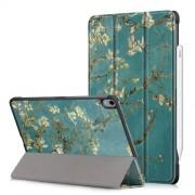 Δερμάτινη Θήκη Βιβλίο Tri-Fold με Βάση Στήριξης για iPad Pro 11-inch (2018) - Ανθισμένες Αμυγδαλιές