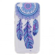 Ultra-thin Patterned Soft TPU Back Phone Protection Casing for Xiaomi Redmi 5A - Dream Catcher