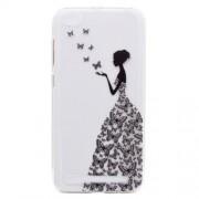 Θήκη Σιλικόνης TPU για Xiaomi Redmi 5A - Κορίτσι με Πεταλούδες