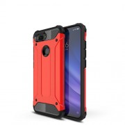 Armor Guard Plastic + TPU Hybrid Case for Xiaomi Mi 8 Lite / Mi 8 Youth (Mi 8X) - Red