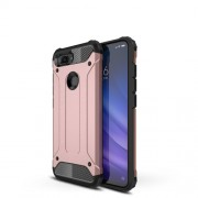 Armor Guard Plastic + TPU Hybrid Cover for Xiaomi Mi 8 Lite / Mi 8 Youth (Mi 8X) - Rose Gold