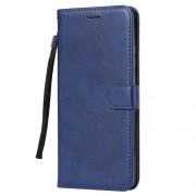 Wallet Stand PU Leather Protective Shell Case for Huawei Mate 20 X - Blue