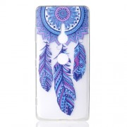 Pattern Printing TPU Back Case for Sony Xperia XZ3 - Dream Catcher