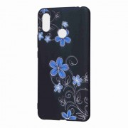 Pattern Printing Embossed TPU Mobile Phone Cover for Xiaomi Mi Max 3 Pro - Beautiful Flowers