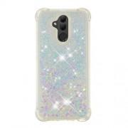 Glitter Powder Quicksand [Shockproof] TPU Gel Case for Huawei Mate 20 Lite - Multi-color