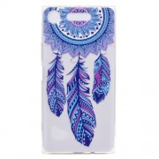 Pattern Printing Soft TPU Jelly Casing for Sony Xperia XZ1 - Dream Catcher