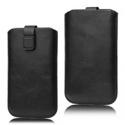 Pull Up Tab Leather Pouch Case for Samsung Galaxy S5 G900