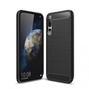 Carbon Fibre Brushed TPU Case for Huawei Honor Magic 2 - Black