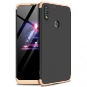 GKK Detachable 3-Piece Matte Hard Shell Case for Huawei Honor 8X Max - Gold / Black