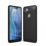 Carbon Fibre Brushed TPU Case for Google Pixel 3 XL - Black