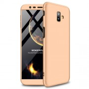 GKK Detachable 3-Piece Matte Plastic Case for Samsung Galaxy J6 Plus - Gold