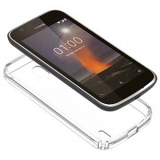 Clear TPU Gel Case for Nokia 1 - Transparent