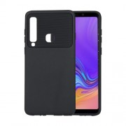 Soft TPU Case for Samsung Galaxy A9 (2018) / A9 Star Pro / A9s - Black