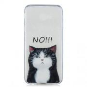 Θήκη Σιλικόνης TPU για Samsung Galaxy J4 Plus - Χαριτωμένη Γάτα