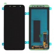 Original Samsung LCD + Digitizer Touch Screen for Samsung Galaxy J6 (2018) SM-A600F - Black (GH97-21931A)