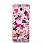 Ultra Thin Pattern Printing Soft TPU Casing for Xiaomi Redmi 5 -  Blooming Flowers