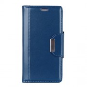 For Xiaomi Mi 8 Lite / Mi 8 Youth (Mi 8X) PU Leather Mobile Cover / Wallet / Stand / Double-sided Magnetic Strap - Blue
