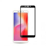 MOCOLO Silk Print Complete Coverage Tempered Glass Screen Protector for Xiaomi Redmi 6 / Redmi 6A - Black