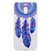 Ultra-thin Patterned Soft TPU Back Mobile Phone Protective Cover for Meizu M6 Note - Dream Catcher