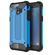 Armor Guard Plastic + TPU Hybrid Protective Case for Samsung Galaxy J2 Pro 2018 - Baby Blue
