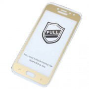 RURIHAI 0.26mm 2.5D Curved Tempered Glass Full Size Screen Protector Film for Samsung Galaxy J2 Pro 2018 - Gold