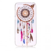 Pattern Printing IMD Soft TPU Mobile Phone Back Shell for Huawei Y5 (2018) / Y5 Prime (2018) / Honor 7s / Play 7 - Dream Catcher