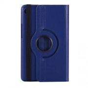 Περιστρεφόμενη Δερμάτινη Θήκη Βιβλίο με Βάση Στήριξης για Huawei MediaPad M5 8 (8.4-inch) - Σκούρο Μπλε