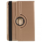Litchi Skin 360-Degree Rotating Stand Leather Case for Huawei MediaPad M5 10 / M5 10 (Pro) - Gold