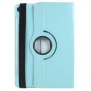 Περιστρεφόμενη Δερμάτινη Θήκη Βιβλίο με Βάση Στήριξης για Huawei MediaPad M5 10 / M5 10 (Pro) - Γαλάζιο