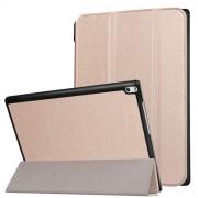 Δερμάτινη Θήκη Βιβλίο Tri-Fold με Βάση Στήριξης για Lenovo Tab 4 10 Plus 10.1-inch - Ροζέ Χρυσαφί