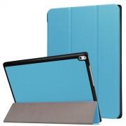 Δερμάτινη Θήκη Βιβλίο Tri-Fold με Βάση Στήριξης για Lenovo Tab 4 10 Plus 10.1-inch - Γαλάζιο