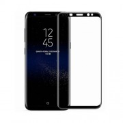 MOCOLO Silk Print Complete Covered Tempered Glass Screen Protector for Samsung Galaxy S8 Plus G955 - Black