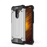 Tough Armor Υβριδική Θήκη Σιλικόνης TPU σε Συνδυαμό με Πλαστικό για Xiaomi Pocophone F1 - Ασημί