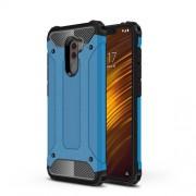 Tough Armor Υβριδική Θήκη Σιλικόνης TPU σε Συνδυαμό με Πλαστικό για Xiaomi Pocophone F1 - Μπλε