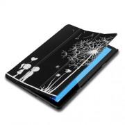 Δερμάτινη Θήκη Βιβλίο Tri-Fold με Βάση Στήριξης Huawei MediaPad T5 10 - Πικραλίδες