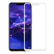 MOCOLO Arc Edge Full Coverage Tempered Glass Screen Protector Film for Huawei Mate 20 Lite / Maimang 7 - White