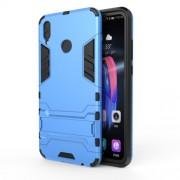 Υβριδική Θήκη Σιλικόνης TPU σε Συνδυαμό με Πλαστικό και με Βάση Στήριξης για Huawei Honor 8X - Μπλε