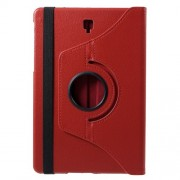 Περιστρεφόμενη Δερμάτινη Θήκη Βιβλίο με Βάση Στήριξης για Samsung Galaxy Tab S4 10.5 T830/T835 - Κόκκινο