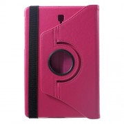 360 Degree Rotary Stand Litchi Grain PU Leather Case Protector for Samsung Galaxy Tab S4 10.5 T830/T835 - Rose