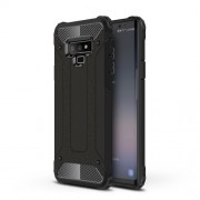 Armor Guard Plastic + TPU Hybrid Case for Samsung Galaxy Note 9 - Black