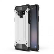 Armor Guard Plastic + TPU Hybrid Shell Case for Samsung Galaxy Note 9 - Silver