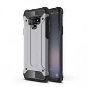 Armor Guard Plastic + TPU Combo Case for Samsung Galaxy Note 9 - Grey