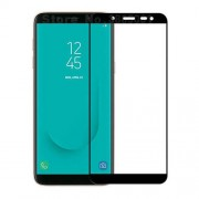 RURIHAI 0.26mm 2.5D Curved Tempered Glass Full Size Screen Protector for Samsung Galaxy J6 (2018) - Black