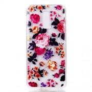 Θήκη Σιλικόνης TPU για Samsung Galaxy A6 (2018) - Πολύχρωμα Λουλούδια