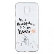 Θήκη Σιλικόνης TPU για Samsung Galaxy A6 (2018) - Life Quote