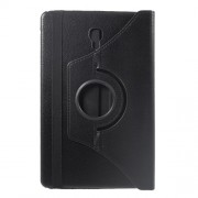 Περιστρεφόμενη Δερμάτινη Θήκη Βιβλίο με Βάση Στήριξης για Samsung Galaxy Tab A 10.5 (2018) T590 T595 - Μαύρο
