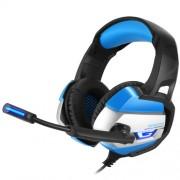 ONIKUMA K5 3.5mm Ενσύρματα Ακουστικά με Μικρόφωνο με Φως LED για Παιχνίδια σε PS4 / XBOX One / Laptop / PC - Μπλε