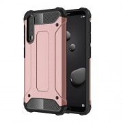Armor Guard Plastic + TPU Hybrid Mobile Phone Cover for Huawei P20 Pro - Rose Gold
